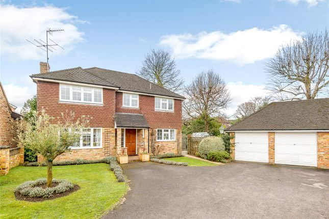 Thumbnail Detached house for sale in Highwayman's Ridge, Windlesham, Surrey