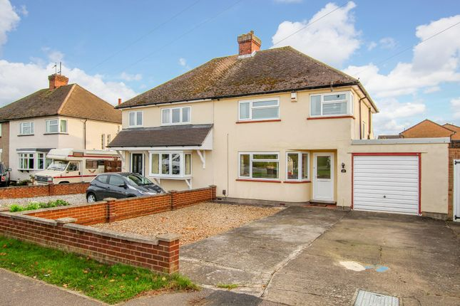 Thumbnail Semi-detached house for sale in Stagsden Road, Bromham