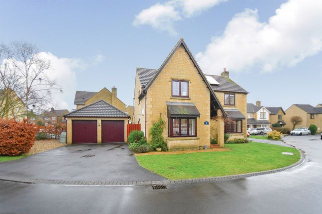 Thumbnail Detached house for sale in Lytham Close, Monkton Park, Chippenham