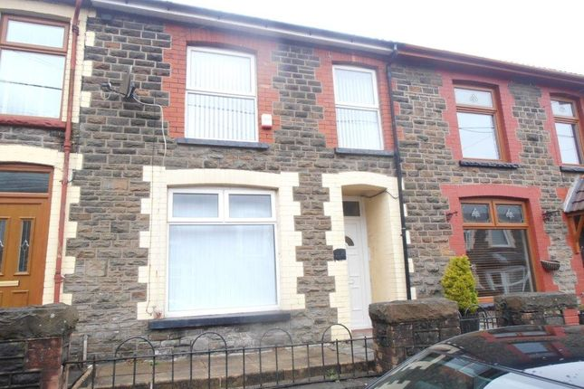 Thumbnail Terraced house to rent in Cilhaul Terrace, Mountain Ash