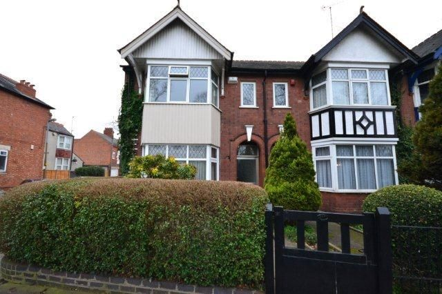 Thumbnail Semi-detached house for sale in Park Lane, Holmfield Avenue, Leicester