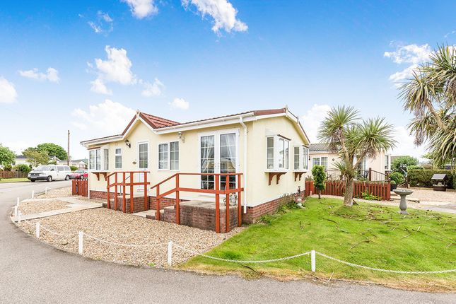 Thumbnail Bungalow for sale in Tremarle Home Park, North Roskear, Camborne