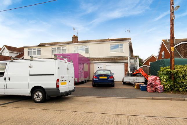 Thumbnail Semi-detached house for sale in West Avenue, Mayland, Mayland Sea