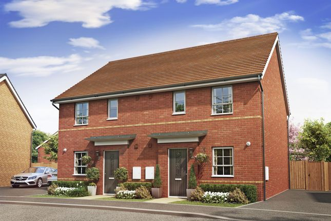 "Thumbnail End terrace house for sale in ""Folkestone"" at Lancaster Avenue, Watton, Thetford"