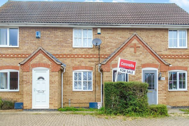 Thumbnail Terraced house for sale in Applegarth Close, Corby