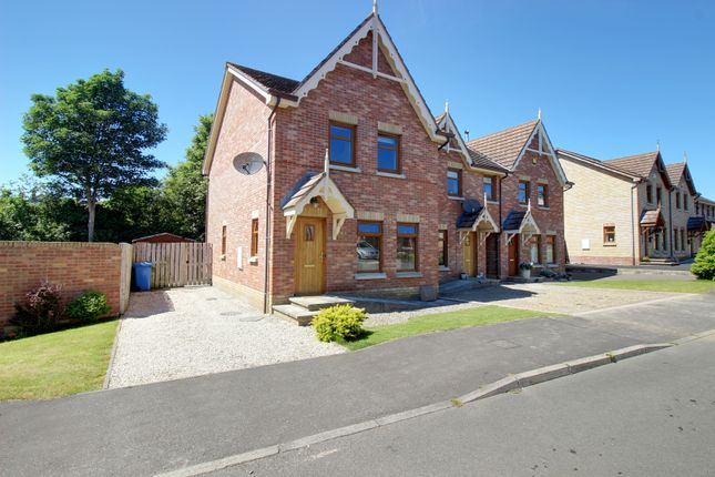 Thumbnail Town house for sale in River Hill Drive, Newtownards