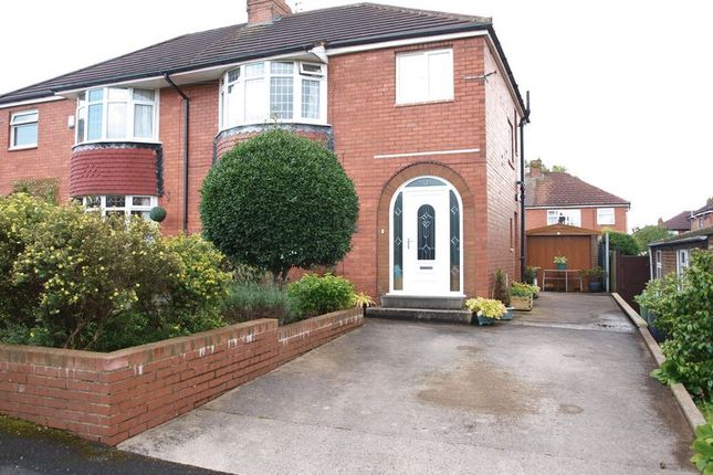 Thumbnail Semi-detached house for sale in Leaside Avenue, Chadderton, Oldham
