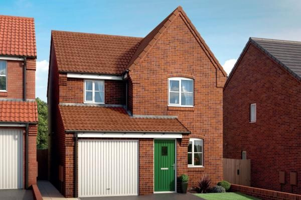 "Thumbnail Property for sale in ""The Fern At Mill Farm, Tibshelf"" at Mansfield Road, Tibshelf, Alfreton"