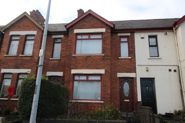 Thumbnail Terraced house to rent in Antrim Road, Newtownabbey