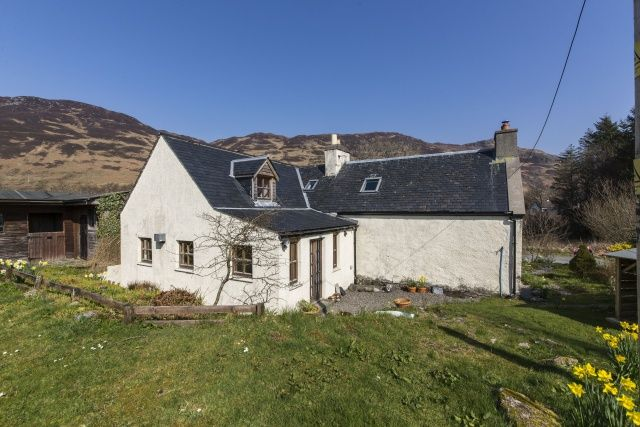 Thumbnail Detached house for sale in Upper Ardelve, Kyle, Highland