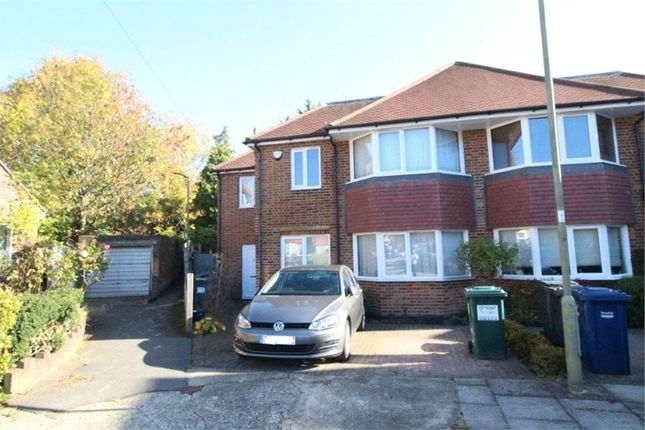 Thumbnail Semi-detached house to rent in Ranelagh Close, Edgware, Middlesex