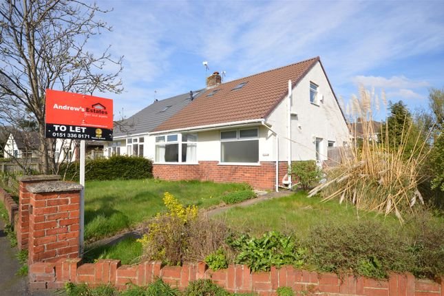 Thumbnail Bungalow to rent in Hadlow Road, Willaston, Neston