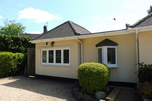 1 bed bungalow to rent in Lone Pine Drive, West Parley, Ferndown BH22