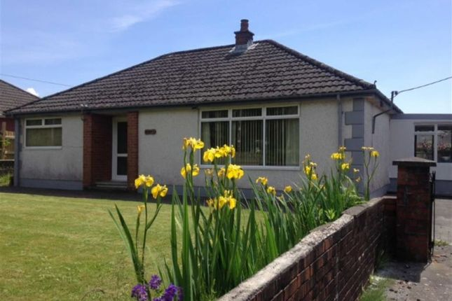 Thumbnail Detached bungalow for sale in Hirwaun Road, Tumble, Llanelli