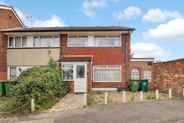 Thumbnail End terrace house for sale in Bingley Road, Sunbury-On-Thames