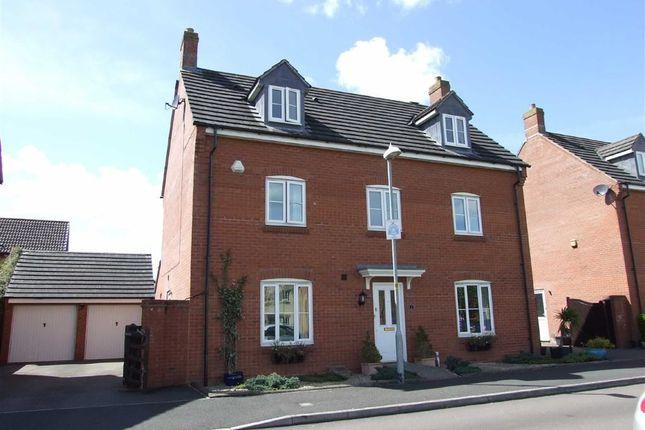 Thumbnail Detached house for sale in Shackleton Close, Bowerhill, Melksham