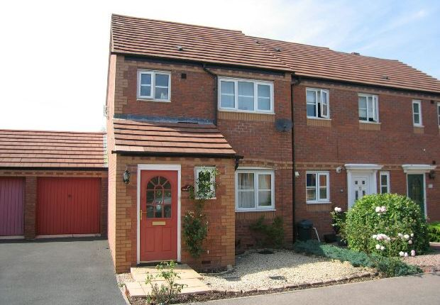 Thumbnail End terrace house to rent in Browning Road, Ledbury, Herefordshire