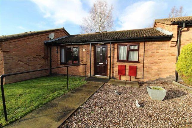 Thumbnail Terraced bungalow for sale in Lilac Close, Bridge Green, Nottingham