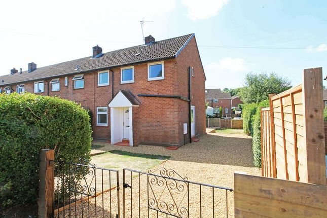 Thumbnail End terrace house for sale in 32 Hill Road, Overdale, Telford