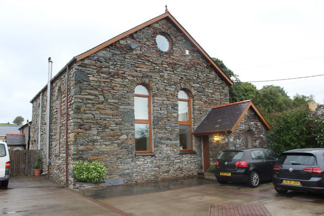Thumbnail Detached house for sale in Pentrefelin, Criccieth