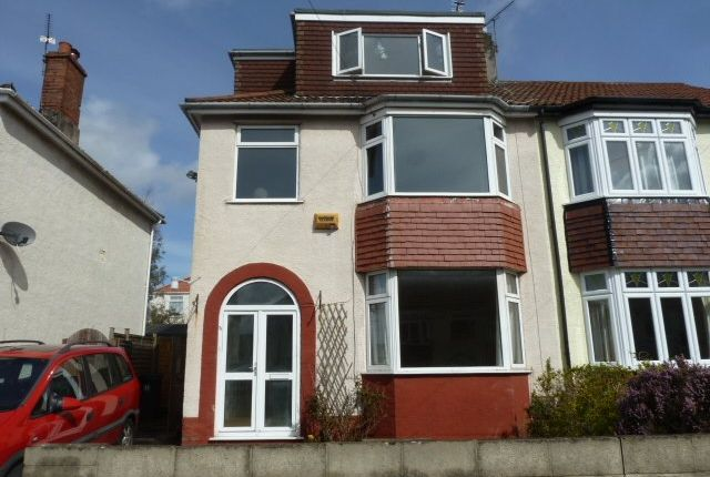 Thumbnail Semi-detached house to rent in Beverley Road, Horfield, Bristol