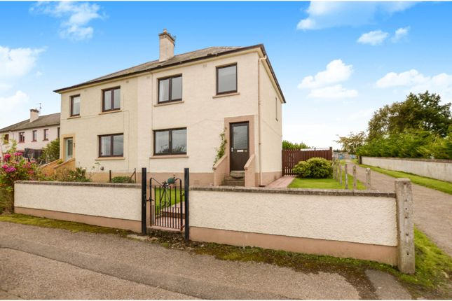 Thumbnail Semi-detached house for sale in Viewhill Crescent, Tain