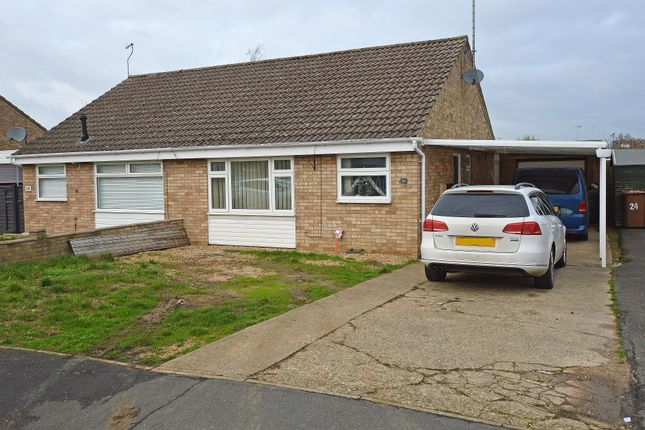 Thumbnail Semi-detached bungalow to rent in Crowson Crescent, Northborough