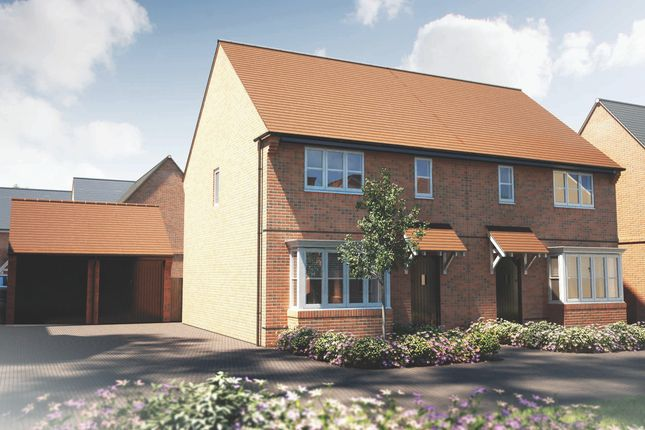 Thumbnail Semi-detached house for sale in Mill Lane, Cranfield