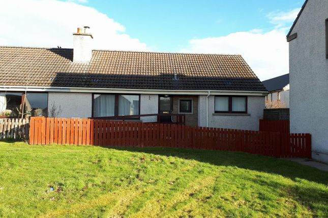 Thumbnail Semi-detached bungalow for sale in Kirkside, Alness