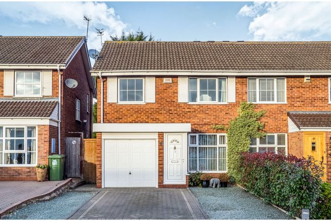 Thumbnail Semi-detached house for sale in Warmington Grove, Warwick