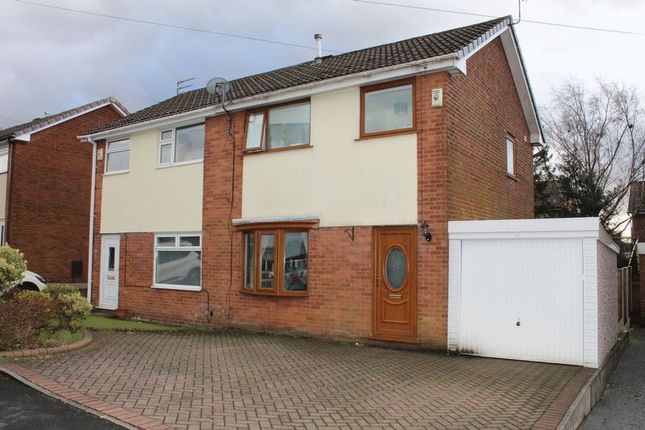 Thumbnail Semi-detached house to rent in Collier Avenue, Milnrow, Rochdale