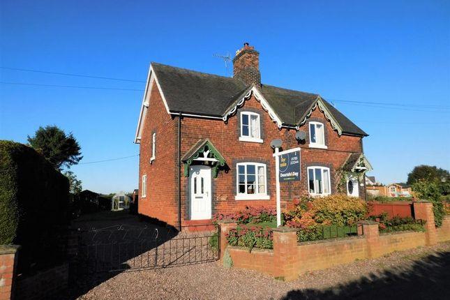 Thumbnail Semi-detached house for sale in Colehurst, Market Drayton