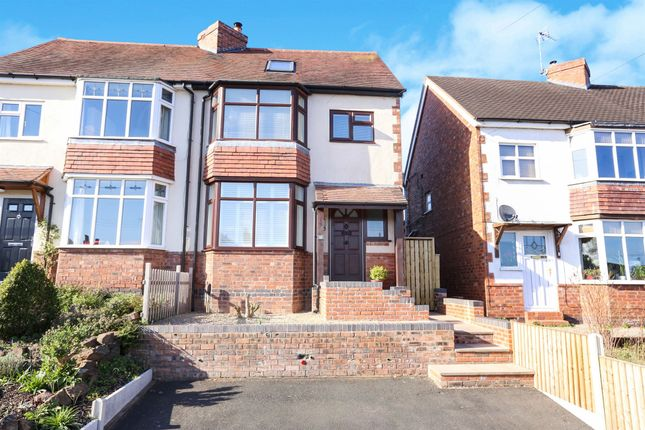 Thumbnail Semi-detached house for sale in Franche Road, Wolverley, Kidderminster