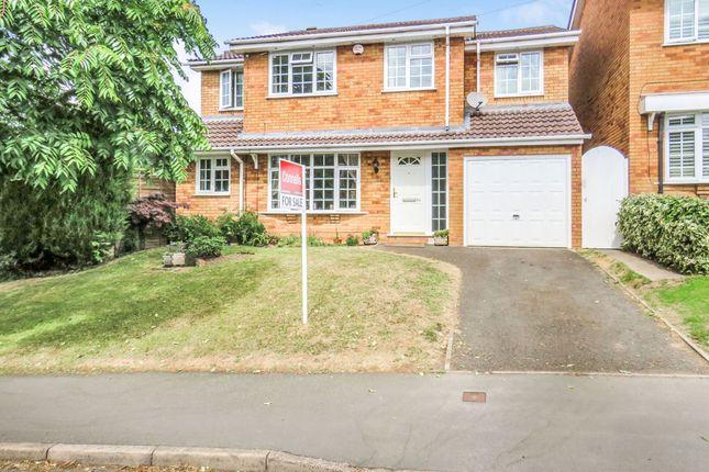 Thumbnail Detached house for sale in Hamilton Avenue, Halesowen