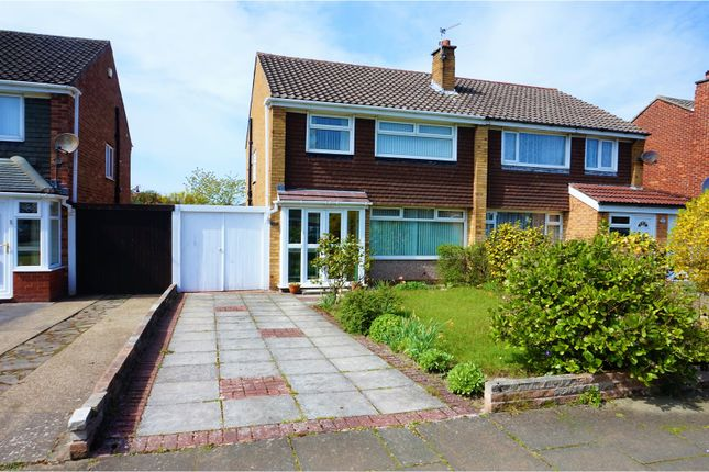 Thumbnail Semi-detached house for sale in Gleneagles Drive, Southport