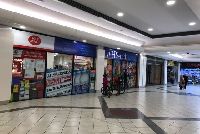 Thumbnail Retail premises for sale in Teviot Walk, Cumbernauld Shopping Centre, North Lanarkshire