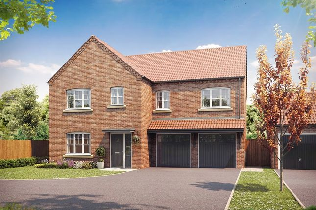 "Thumbnail Detached house for sale in ""The Brompton"" at Fordlands Road, Fulford, York"