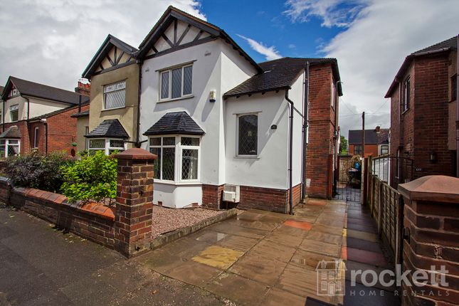 Thumbnail Semi-detached house to rent in Basford Park Road, May Bank, Newcastle-Under-Lyme