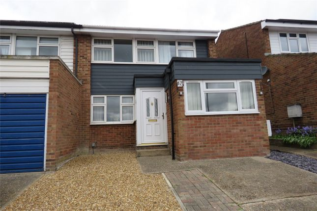 3 bed end terrace house to rent in Jeffrey Close, Royston SG8