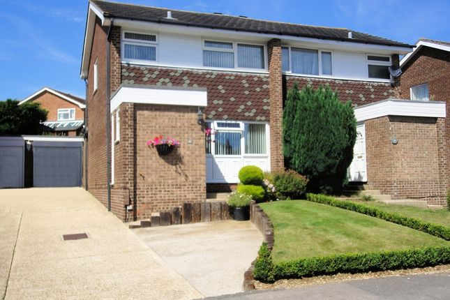 Thumbnail Semi-detached house for sale in Jumar Close, Warsash, Southampton, Hampshire