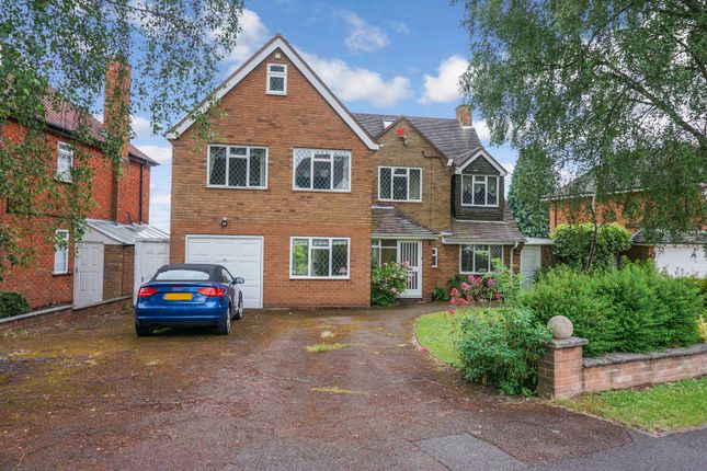 5 bed detached house for sale in Brooks Road, Wylde Green, Sutton Coldfield B72