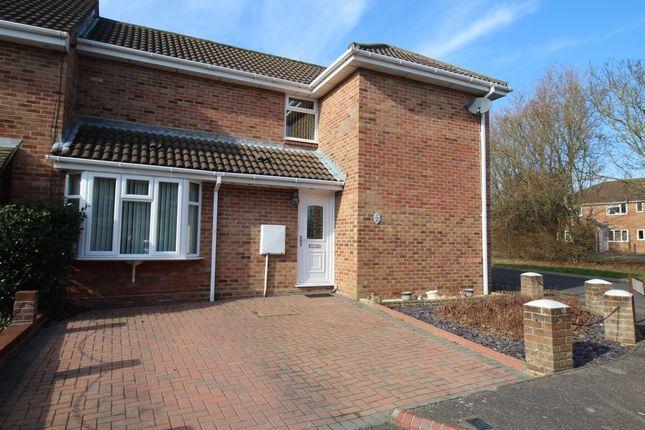 Thumbnail Semi-detached house for sale in Eagle Close, Portchester, Fareham