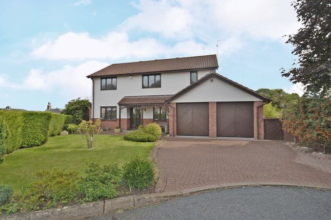 Thumbnail Detached house for sale in Outstanding Family House, Ffos-Y-Fran, Newport