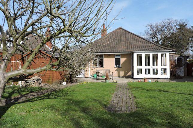 Thumbnail Bungalow to rent in Bredfield Road, Woodbridge