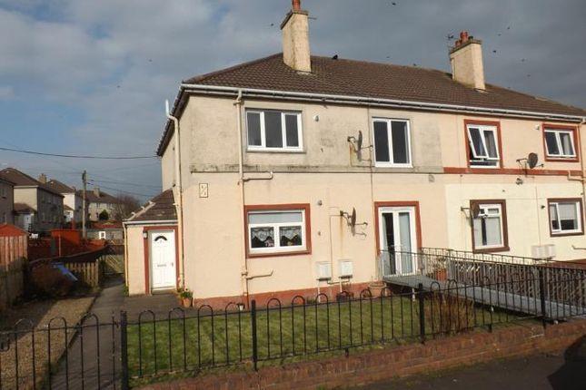 Thumbnail Flat to rent in Halkett Place, Saltcoats