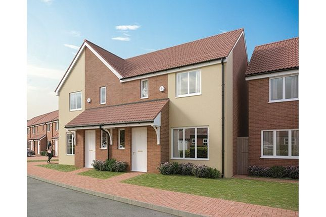 Thumbnail Semi-detached house for sale in Plots 230 Hill Barton Vale, Myrtlebury Way, Exeter, Devon
