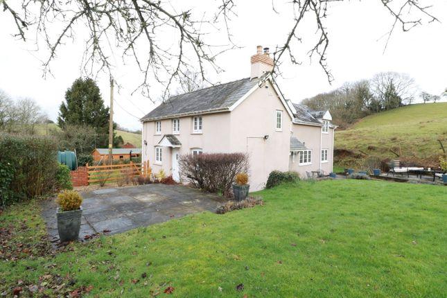 Thumbnail Detached house for sale in Llandegveth, Newport