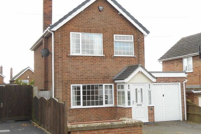 Thumbnail Detached house to rent in Cadgwith Drive, Allestree, Derby