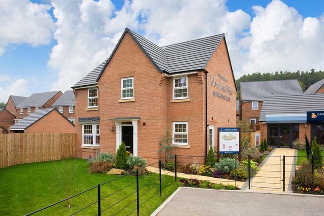 "Thumbnail Detached house for sale in ""Mitchell"" at Craneshaugh Close, Hexham"