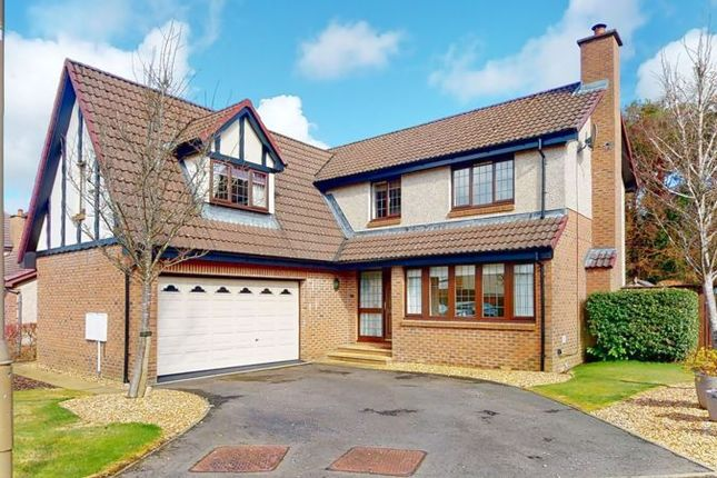 Thumbnail Detached house for sale in Albyn Drive, Murieston, Livingston